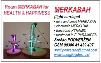 Room MERKABAH for HEALTH & HAPPINESS